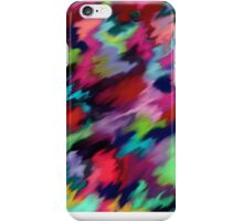 Colourful abstract watercolour  iPhone Case/Skin