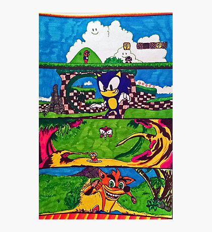 The Classic Game Collection! Photographic Print