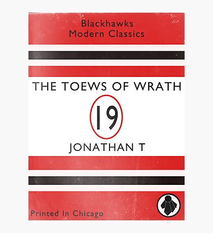 Toews Of Wrath Book Cover Photographic Print