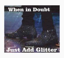 When in doubt just add glitter - harry styles boots by amd1