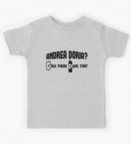 Andrea Doria Scuba Diving Kids Tee