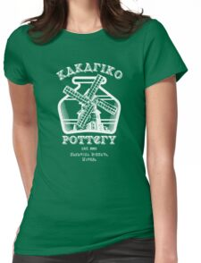 Kakariko Pottery Womens Fitted T-Shirt
