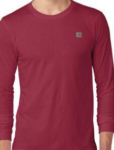 Cool simplistic QR-code Long Sleeve T-Shirt