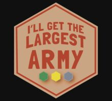 I'll get the largest ARMY (in TAN)  One Piece - Short Sleeve