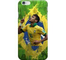 Neymar Brazil football soccer Full canvas  iPhone Case/Skin