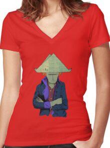 Napoleon  Women's Fitted V-Neck T-Shirt
