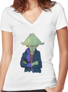 Napoleon  Women's Fitted V-Neck T-Shirt
