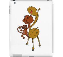 Street Monkey Giraffe Fighter iPad Case/Skin