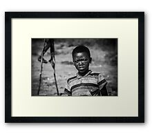 stilts Framed Print