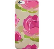 Beautiful flowers, nature pattern iPhone Case/Skin