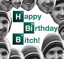 Happy birthday Breaking Bad Jessie by vodkavuttion
