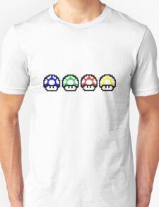 Mario Mushrooms T-Shirt