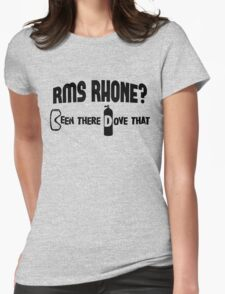 RMS Rhone Scuba Diving Womens Fitted T-Shirt