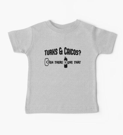 Turks & Caicos Scuba Diving Baby Tee