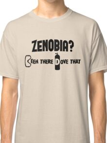 Zenobia Scuba Diving Classic T-Shirt