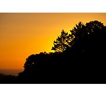 Sunset - Skyline Photographic Print