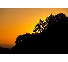 Sunset - Skyline Photographic Print