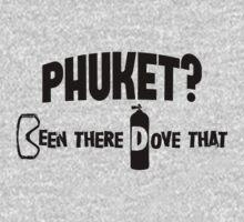 Phuket Scuba Diving One Piece - Short Sleeve