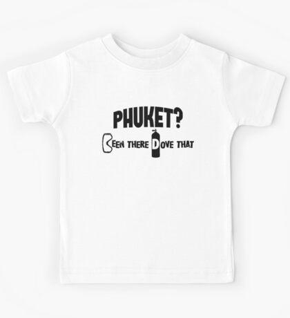 Phuket Scuba Diving Kids Tee