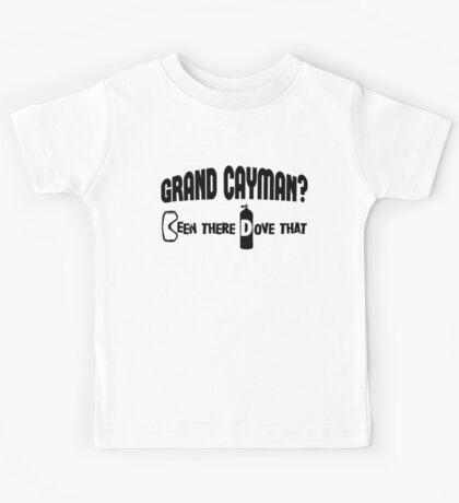 Grand Cayman Scuba Diving Kids Tee