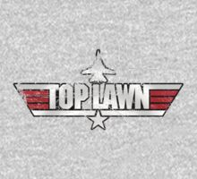 Custom Top Gun Style Style - Top Lawn (Distressed) One Piece - Long Sleeve