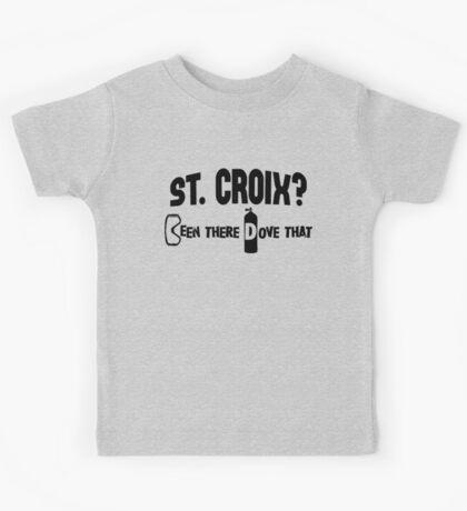 St Croix Scuba Diving Kids Tee
