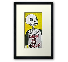 The Cannibal Framed Print