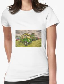 Bus Tow Truck  Womens Fitted T-Shirt