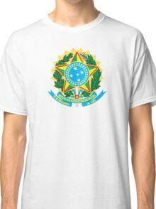 Brazil Coat of Arms Classic T-Shirt
