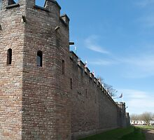 Cardiff Castle walls by photoeverywhere