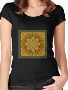 Eye of the Iris - Shawl Women's Fitted Scoop T-Shirt