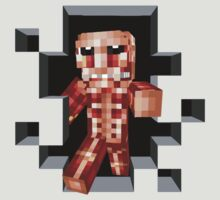 Minecraft Titan by sleepingm4fi4