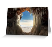 Keyhole, Apostle Islands,WI Greeting Card