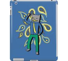 Paisley Party Kitty iPad Case/Skin