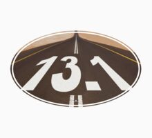 Unique 13.1 Road Oval Sticker by robotface