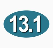 13.1 Sticker - Teal  by robotface