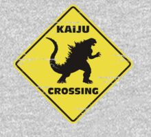 Kaiju Crossing by Jay Caswell-Bate