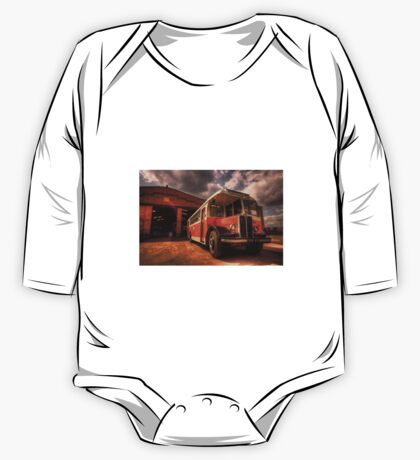 Classic Bus  One Piece - Long Sleeve
