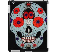 Blue Skull i-pad case iPad Case/Skin