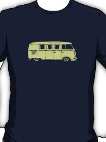vw camper split kombi bus car t shirt T-Shirt