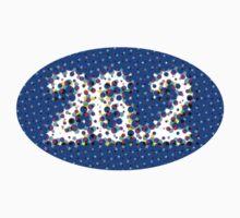 26.2 POP ART Oval Sticker by robotface