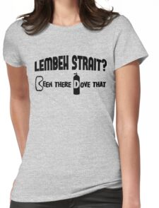 Lembeh Strait Scuba Diving Womens Fitted T-Shirt