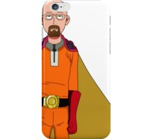 One Punch Man Walter White iPhone Case/Skin