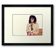 Rayon Framed Print