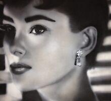 Audrey Hepburn  by Meagan Ashley