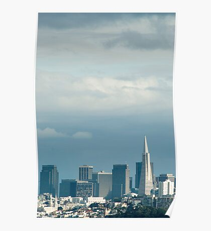 san francisco towers Poster