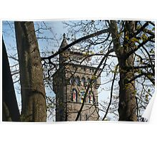 Clock Tower on Cardiff Castle Poster