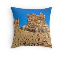Molly's Castle in the Utah Desert Throw Pillow