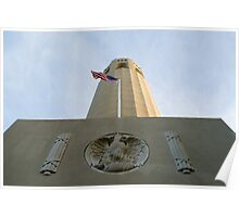 coit tower low angle Poster