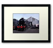 On Shed Framed Print